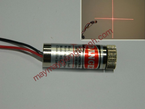 Đèn laser trong ngành may
