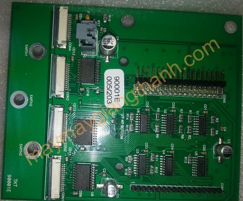 Main điều khiển đầu phun máy in sơ đồ DOT 180