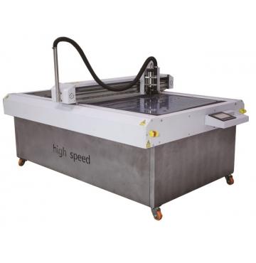 Máy cắt gá nhựa mica và cắt rập 2 trong 1 tốc độ cao CXMB-02